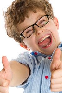 Как убедить ребенка, что очки – это хорошо