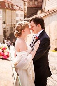 Романтическая свадьба в Чехии
