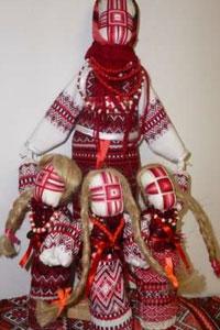 Кукла мотанка - символ благополучия