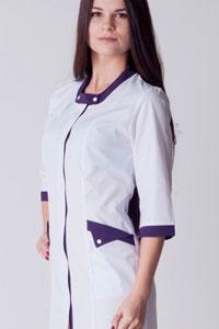 Стильные медицинские халаты от Макси Мини