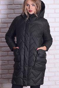 Модные стеганые женские куртки