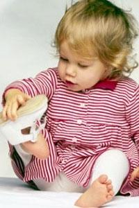 Выбираем первую детскую обувь