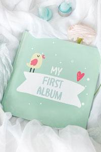 Альбом для новорожденного – лучшие моменты жизни вашего малыша