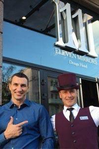 Номер Standart в 11 Mirrors Design Hotel