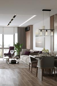 Дизайн интерьера квартиры – дело мастера боится!