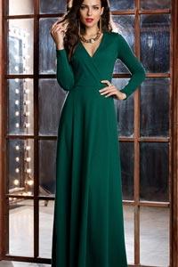 Модное зеленое платье: выбираем трендовые варианты на зиму