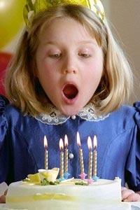 Украшение детского торта