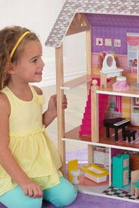 Румбокс - кукольный домик для девочки