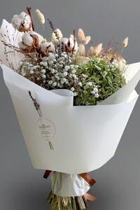 Сухоцветы как элементы фэн-шуй