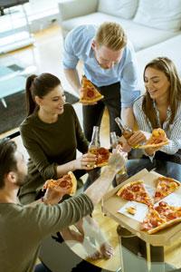 Доставка пиццы: карантин не помеха гастрономическому празднику