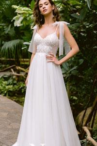 Прямое свадебное платье: советы по выбору