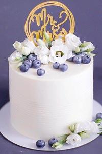 Авторский свадебный торт с оригинальной рецептурой