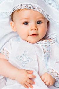 Одежда для крещения младенца - что надо купить?