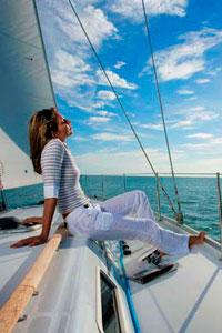 Морская прогулка на яхте или катере