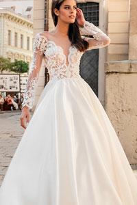 Изысканные свадебные платья от Оксаны Мухи