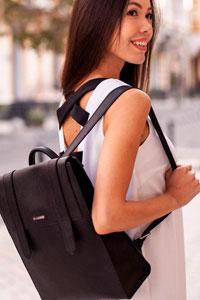 Как выбрать женский кожаный рюкзак для города