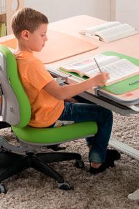 Ортопедические парты и стулья с регулированием высоты и наклона