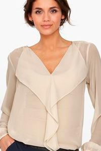 Как выбрать блузку в соответствии с типом фигуры
