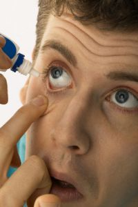 Сезонное обострение аллергического конъюнктивита