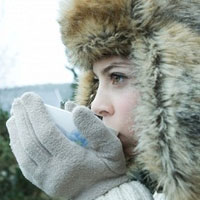 Как быстро согреться в холодную погоду?
