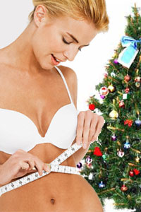 Обратный отсчет или как похудеть к Новому году за пару дней