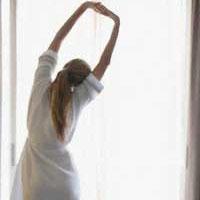 Утрення зарядка: если хочешь быть здорова!