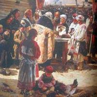 Русские обычаи и суеверия на Пасху