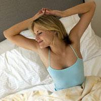 Утренняя зарядка в постели