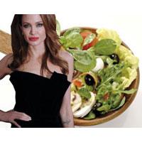 Безрассудная еда Анжелины Джоли: сверчки и 600 калорий в день