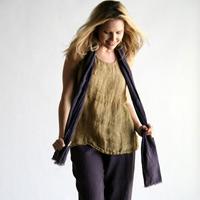 Женская льняная одежда - модный хит этого лета
