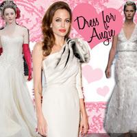 В каком платье Анджелина Джоли пойдет к алтарю?