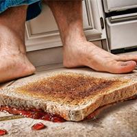 Учёные исследовали опасность упавшей на пол пищи