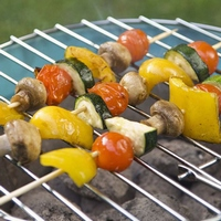 Шашлык из овощей: правила и советы