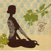 Йога для лечения ПМС