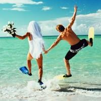 Лучшая десятка мест для свадебного путешествия