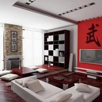 Мода и интерьер: гостинная в китайском стиле