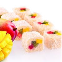 Несложный рецепт сладких роллов «Юки-Но»