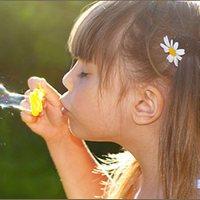 Игры для детей и взрослых: мыльные пузыри