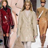 Лаковая кожа - самый популярный материал сезона осень-зима 2012-2013