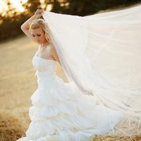 Осенняя свадьба: выбор платья для невесты