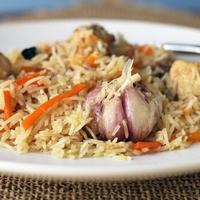 Узбекский рецепт куриного плова