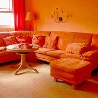 Оранжевый цвет: добавьте в интерьер теплоты и уюта