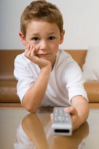 Телевізор, ламає дитячі життя