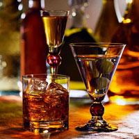 Какие бокалы способствуют быстрому опьянению