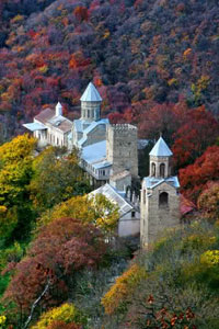 Отдыхаем осенью в Грузии