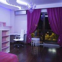 Оттенки фиолетового для отделки интерьера