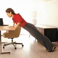 Тонизирующие упражнения для занятий на рабочем месте