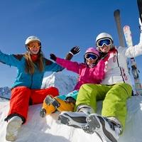 Становимся на лыжи всей семьёй