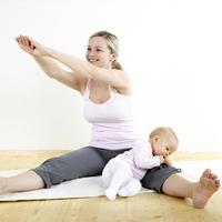 Йога для молодых мам и их малышей