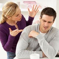 Лишний вес супругов и отношения в семье
